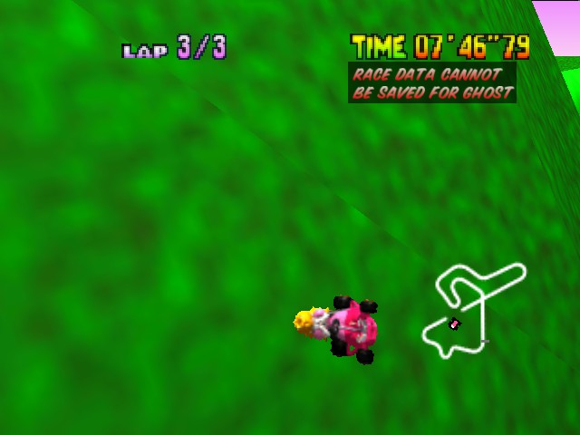 Mario Kart 64 - Well, I thought I could fly. - User Screenshot